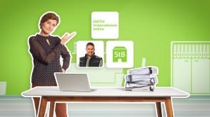 Video von DATEV Unternehmen Online  Lohn